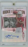 2019 Passing The Torch Kyler Murray Rookie Evolution Auto 07/50 Nice