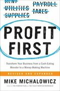 New Profit First Book By Mike Michalowicz 073521414x