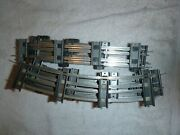 American Flyer S Gauge Track 8 Pcs 700 Straight And 12pcs 702 Curve