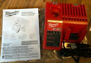 New Milwaukee M12 M18 Battery Charger 48-59-1812 Lithium Li-ion Multi-volt Combo