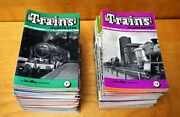94 Vintage Trains Illustrated Magazines - 1951 - 1958 Lot By Ian Allan Uk
