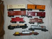 American Flyer Miscellaneous Freight Cars 947 807 948 Track Cleaning Car 936