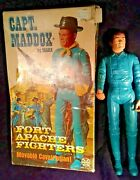 Captain Maddox Box 13/22 Accessories Johnny West Custer Marx