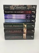 Vampire Academy 1-6 And Bloodlines By Richelle Mead 7 Book Lot