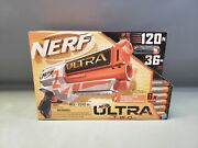 Nerf Ultra Two Motorized Blaster, Includes 6 Official Nerf Ultra Darts Nib