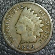 1888 Indian Head Penny One Cent