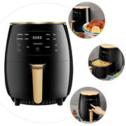 4.5 Qt Digital Electric Air Fryer Intelligent Touch Smokeless With Led Display
