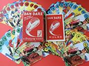 Dan Dare Eagle Comic Pepys Vintage 1953 Game Of The Future Boxed Card Game