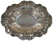 Reed And Barton Sterling Silver X566f Francis I Footed Serving Dish Bowl 680g 13