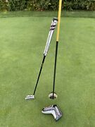 Odyssey 9 Wbw O-works Putter 34 Inches W/ Cover - Excellent