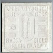 Large Lot Of 180 Field White Villeroy And Boch Original Antique Reclaimed Tiles