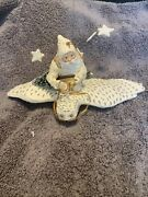Department 56 Large Belsnickle Father Frost Riding Owl Ornament Retired