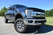 2017 Ford F-250 King Ranch 2017 Ford Super Duty F-250 Pickup King Ranch 159347 Miles Blue Pickup Truck 8 Au