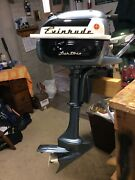 Evinrude Lightwin 3 Hp Outboard Boat Motor 1957