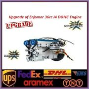 Dohc 36cc 4 Cylinder 4 Stroke Water-cooled Gasoline Engine For Rc Car Boat Tank