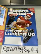 August 2012 Sports Illustrated For Kids Magazine +uncut Sheet Aaron Rodgers 569a