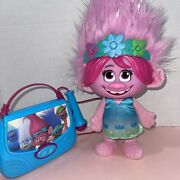 Dreamworks Trolls Color Poppin Poppy Hair S Up Siand Sing Along Boom Box 🎤 🎶