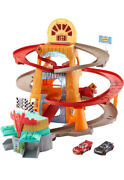 Disney And Pixar's Cars Radiator Springs Mountain Race Playset With Two Vehicles