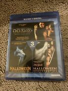 Halloween 3-movie Collection Blu-ray + Digital New Sealed