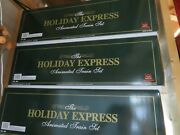 New Bright 384 Holiday Express Animated Christmas Train Set -last Ones In Stock
