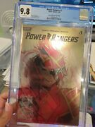 Power Rangers 2020 1 Momoko Local Comic Shop Day Foil Cgc 9.8 White Pages