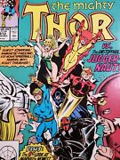 Thor 411 412 Marvel Comics Cameo And 1st New Warriors