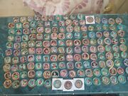 1971 Topps Baseball Coins Complete Set Midgrade 153/153 Great Color