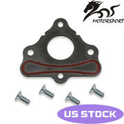 Mscrp Cam Gasket Camshaft Retainer Thrust Plate W/ Bolts For Ls1 Ls2 Ls3 Ls6 Ls7