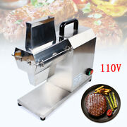 Commercial Meat Tenderizer Electric Tenderizer Cuber Stainless Steel 450w 200r