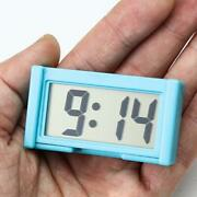 Small Self-adhesive Car Desk Clock Electronic Watches 2021 Digital Lcd X0g7