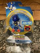 Sonic The Hedgehog 30th Anniversary Metal Sonic Classic 4 Figure New Sealed