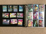 My Little Pony Magic Series 1 2 3 4 Holo Rare Shiny Mint Over 100 Cards Lot