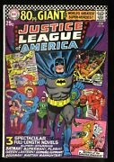 Justice League Of America 48 Fn 6.0 80 Page Giant G-29