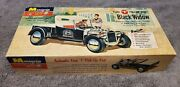 2 Vintage Original 1960 Ford T Pick-up Rod The Black Widow Build-up Boxed