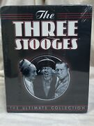 The Three Stooges The Ultimate Collection 20 Dvd Set Sealed Free Shipping