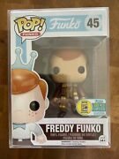 Sdcc 2016 Pop Doctor Who Freddy Funko Fundays Eleventh Doctor Le 1/333 Grail
