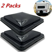 Rv Replacement Lid Motorhome Camper Trailer Black 14 X 14 2 Rv Roof Vent Cover