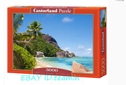 Castorland Jigsaw Tropical Beach 3000 Pieces Puzzles Rare New Sealed In Stock