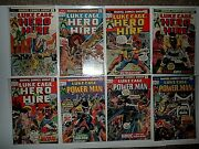1973-1974 Luke Cage Heroes For Hire 12-16 And First Power Man 17-19
