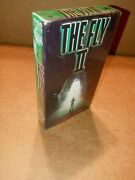 Rare 1st Print Vhs 1989 The Fly 2 Cbs Fox Video. Stamping Original Sealed