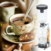 Cafetera Sifon 3 Cup Coffee Pot Siphon Filter Glass Heat Resistant Usa
