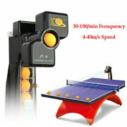 Jt-a Table Tennis Robot Auto Ping-pong Ball Machine Practice Train Recycle W/net