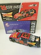 Action Kevin Harvick 29 Sonic Americaand039s Drive In 2002 Nascar 124 Diecast