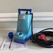 Little Giant Water Wizard 5 Series Submersible 1/6 Hp Utility Sump Pump - New