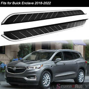 Fits For Buick Enclave 2018-2022 Fixed Nerf Bar Side Step Pedal Running Board