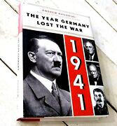 1941 The Year That Germany Lost The War By Andrew Nagorski Signed