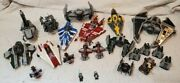 Huge Lego Star Wars Lot 20+ Vintage Sets Furry-class, A-wing, Starfighter Etc.