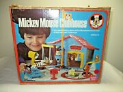 Vintage Hasbro 1976 Weebles Mickey Mouse Clubhouse Playset Complete Iob