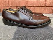 Florsheim Imperial Brown Shell Cordovan V Cleat Lace Up Oxfords Shoes Menand039s 9.5