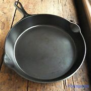Vintage Griswold Cast Iron Skillet Frying Pan 10 Small Block Logo - Ironspoon